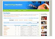 Free Webpage Headers