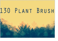 森のブラシセット/130 PLANT BRUSHES