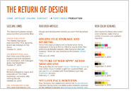 THE RETURN OF DESIGN