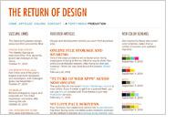 THE RETURN OF DESIGN