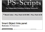 Smart Object links panel