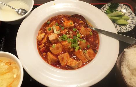 定食/麻婆豆腐